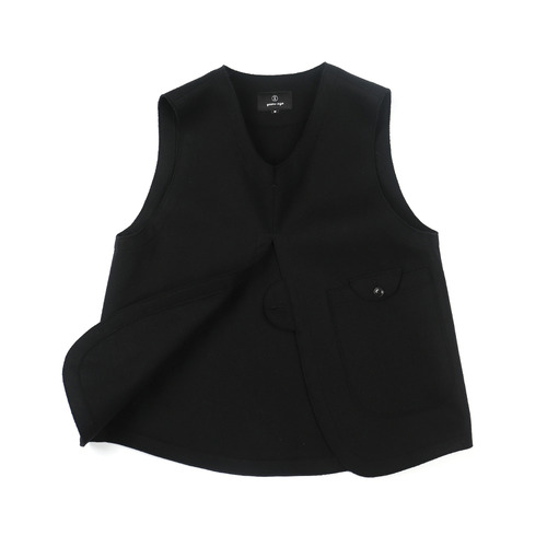 Black Adjustable Vest