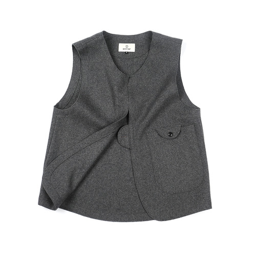 Melange Chacoal Adjustable Vest