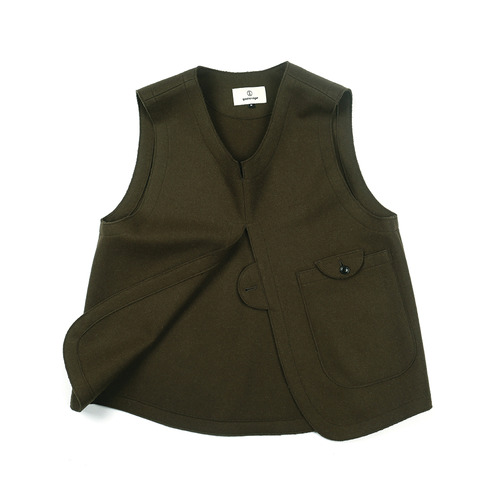 Olive drab Adjustable Vest