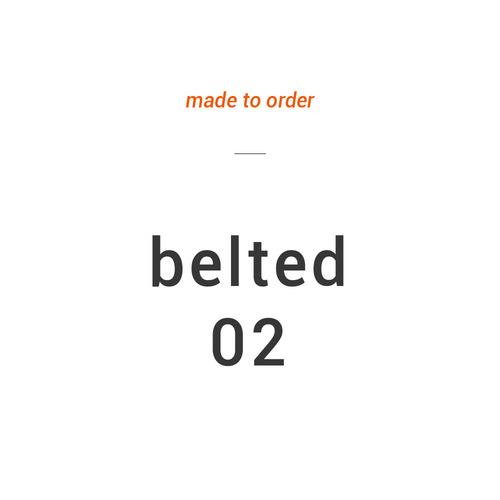 M.T.O : Dropped Belted Pants 02