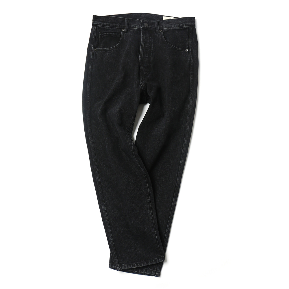 Black Flawless Denim Pants 02