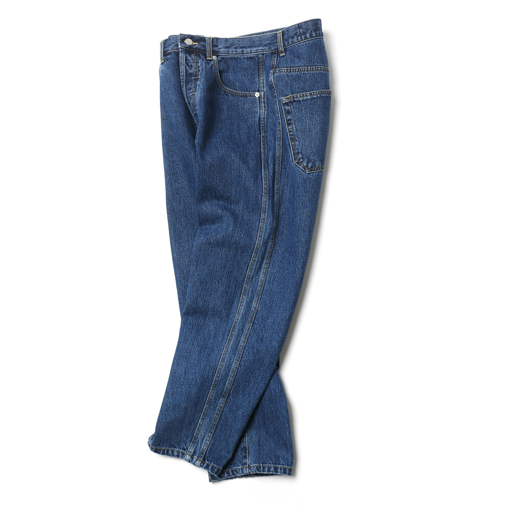 Indigo Blue Flawless Denim Pants 02