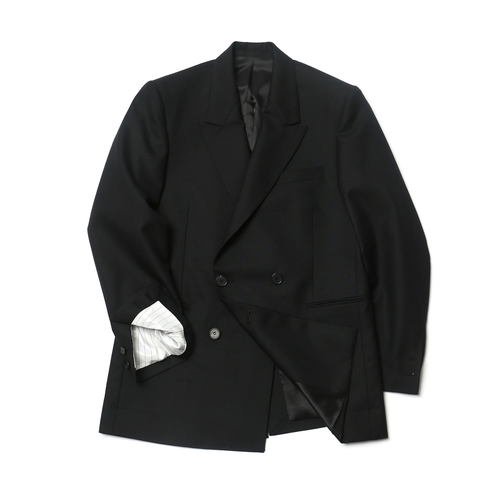 Black Floor Plan DB Jacket