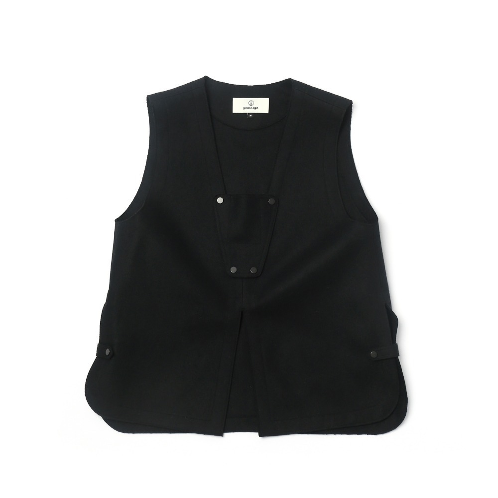Black Adjustable Vest 02