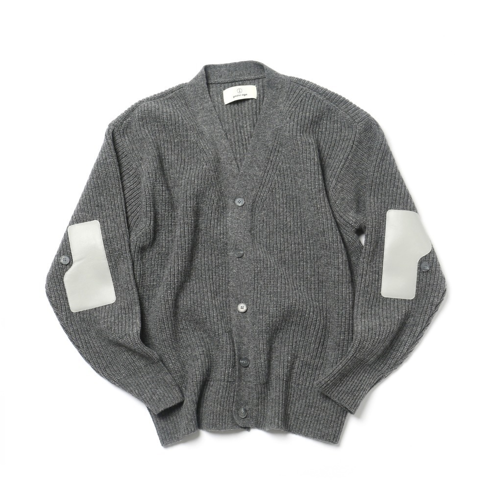 Melange Grey Rover Wool Cardigan