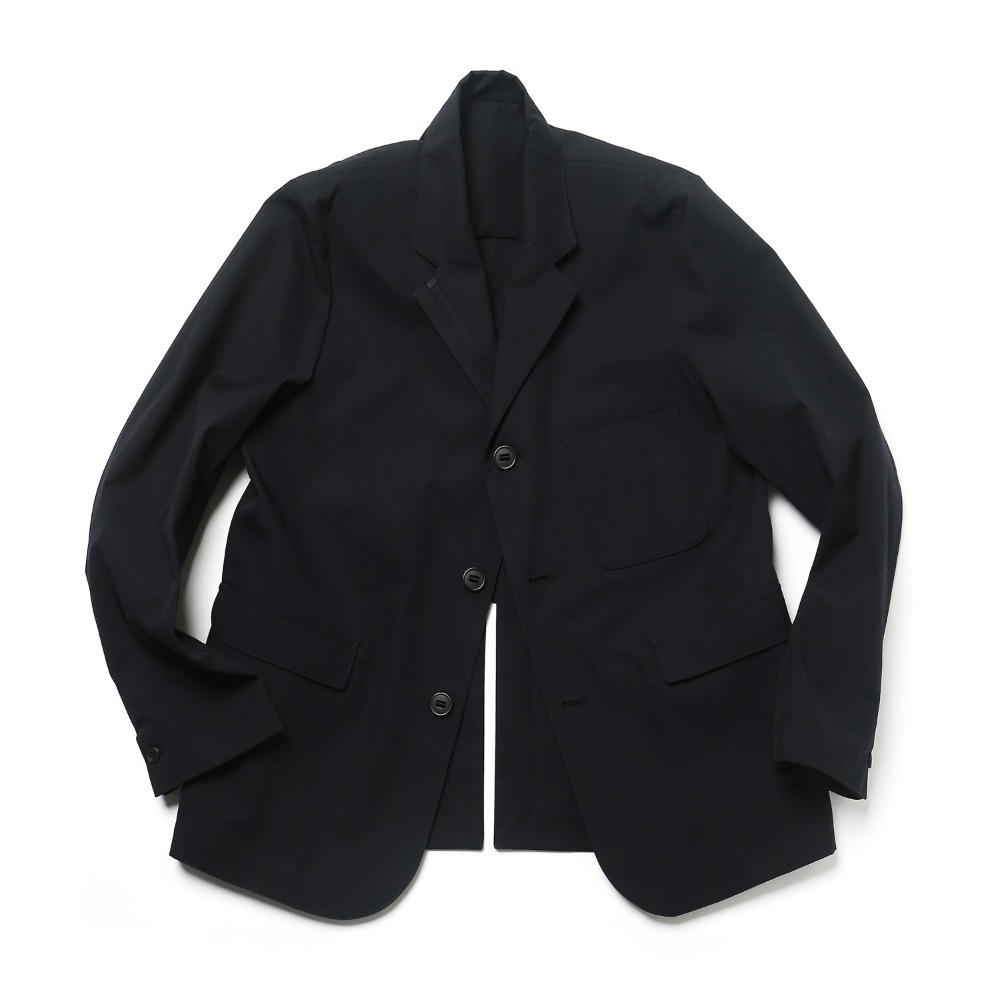 Dark Navy Cotton Adjustable blazer 04