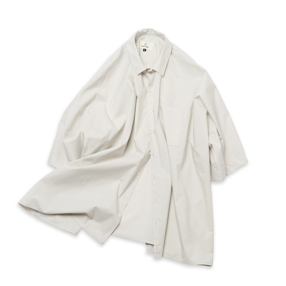 (2nd pre-order) Ivory Grey Coverable Shirts 02