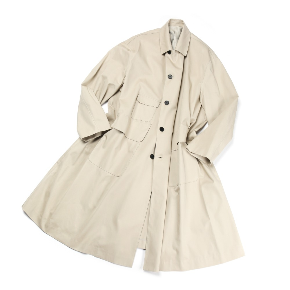 Cotton Beige 3PO Coat