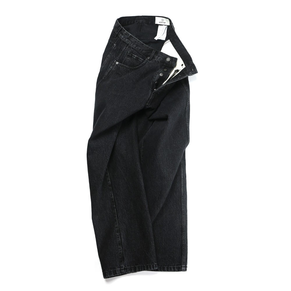[2nd pre-order] Black Flawless Denim Pants 03 Wide (1월 16일 발송)