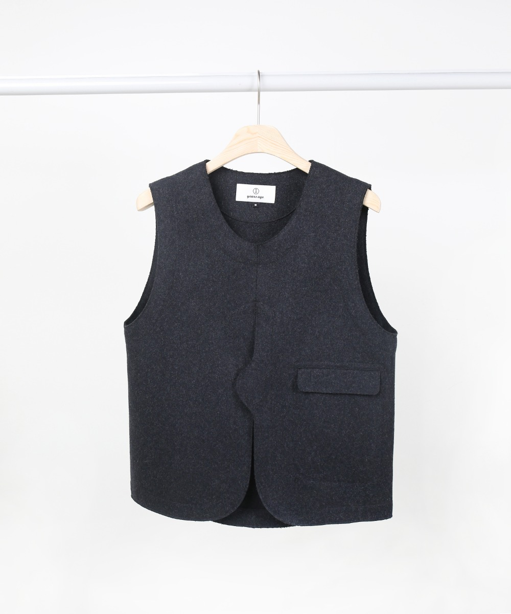 Charcoal Adjustable Vest 01-2