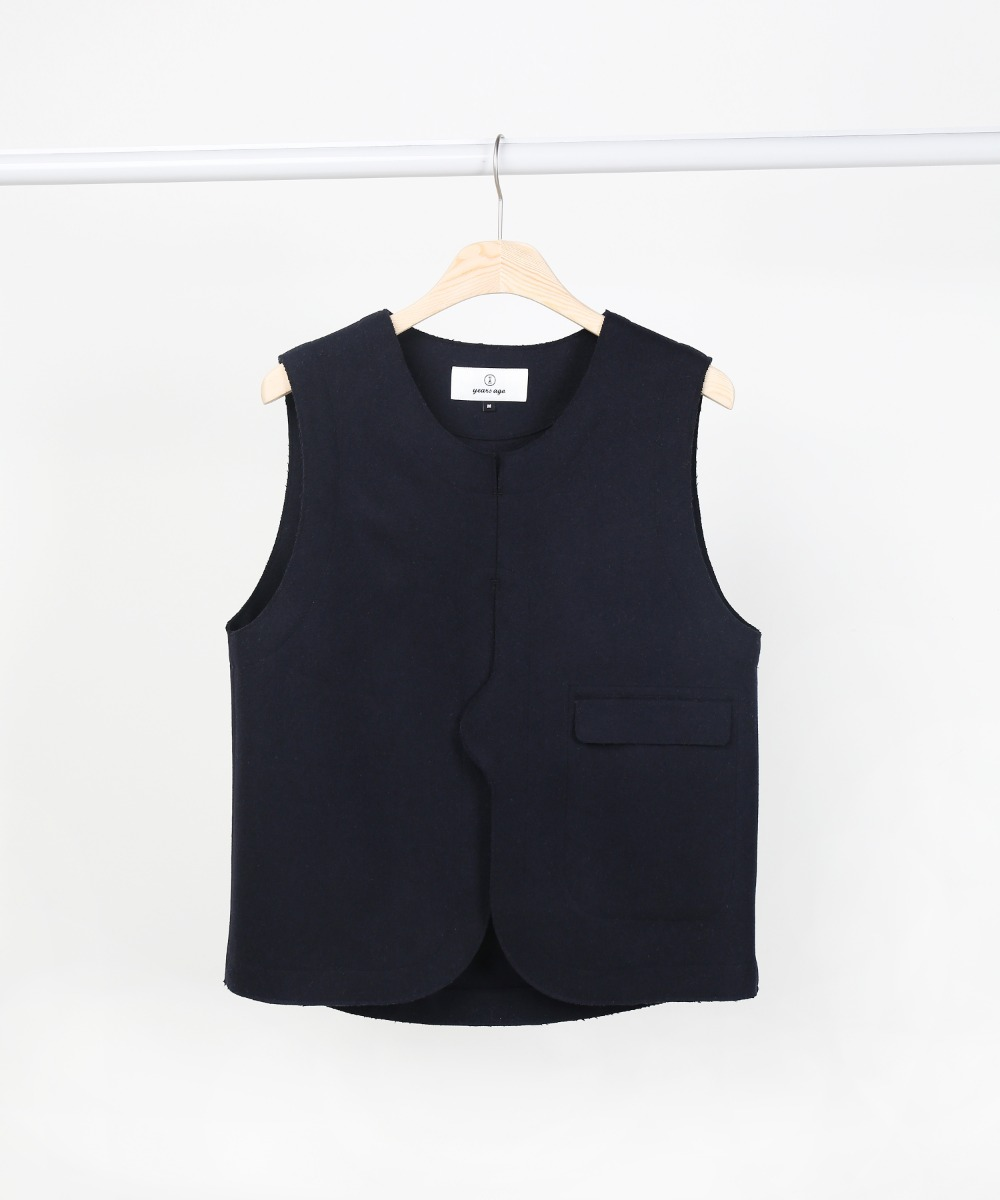 Dark Navy Adjustable Vest 01-2