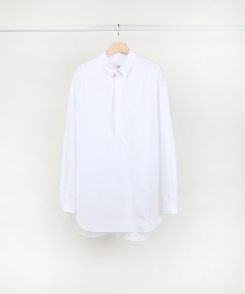 White Apical Pull Over Shirts