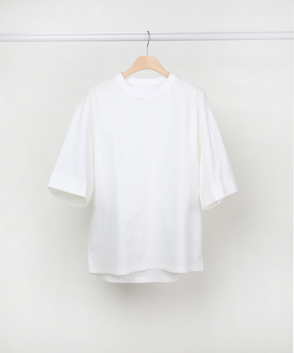White Half Sleeve Easygoing 04