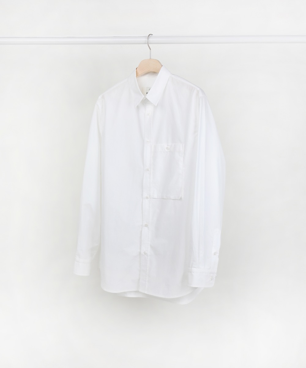 White One Pocket Shirts 01