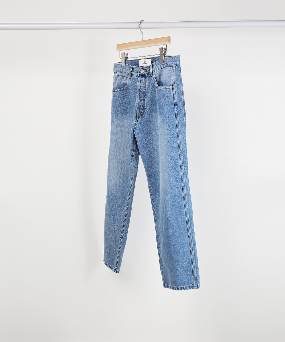 LIGHT INDIGO FLAWLESS DENIM PANTS 02-2