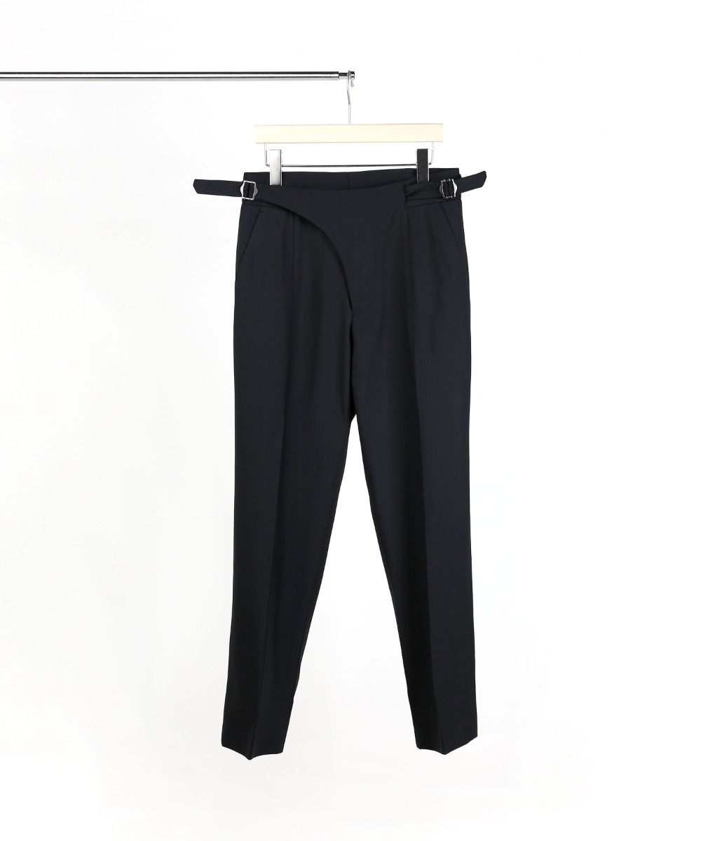 BLACK GURKHA PANTS 03