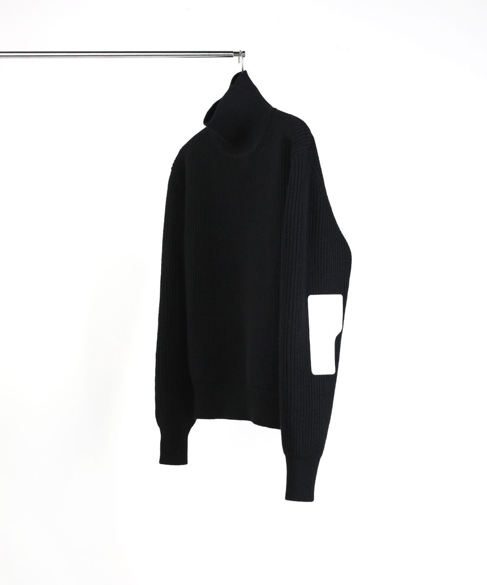 BLACK ROVER WOOL KNIT TURTLENECK